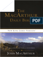 The MacArthur Daily Bible, NKJV - Week 1
