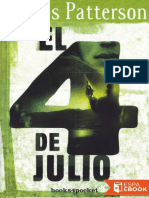 4 de Julio, El - James Patterson