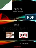 infección de transmision sexual (sifilis)