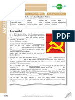 the cold war adv level