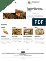 Recetas Árabes - Las Mejores Recetas de La Cocina Árabe