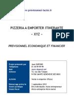 Prévisionnel Camion Pizza