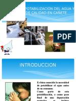 POTABILIZACION - CAÑETE.ppt