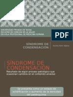 Síndrome de Condensación - Upt