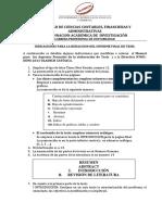 Rectificacion Al Manual y Derictiva de Investigacion