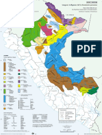 Mapa - Lenguas Amazonicas Perou