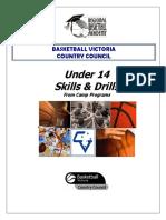 Under 14 Skills & Drills