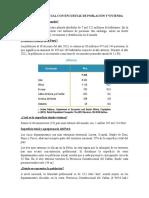 Población Actual Con Encuestas de Población y Vivienda