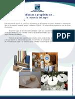 Estadísticas a propósito de ... la Industria del papel