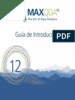 MaxQda 12 Guia Introductoria Esp