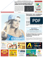 Jornal União, exemplar online da 15/09 a 21/09/2016.