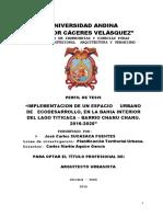 Esquema Para Elaborar El Proyecto de Investigacion Cientifica UANCV