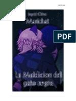 La Maldición Del Gato Negro- Marichat/ Ingrid Oliva.