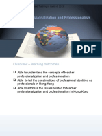 T2 - Teacher Professionalization and Professionalism (2014)