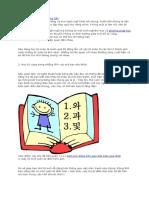 Phương pháp học từ mới Tiếng Hàn