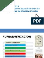 Acuerdo 717. Gestión Escolar_12_01_2015.pptx