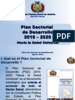 Plan Sectorial 2010 - 2020.pps