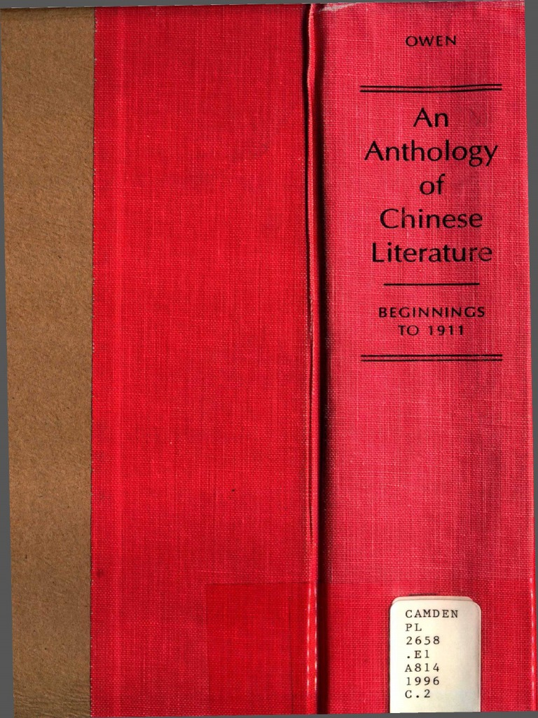 Sofa removable free spirited and flexible d 233 sir 233 e - An Anthology Of Chinese Literature Stephen Owen 1996 Pdf Han Dynasty Tang Dynasty