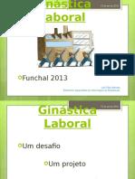 Ginástica Laboral - formação adultos