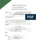 Informe Rio Chili