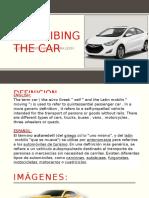 Describing the Car