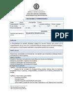 Syllabus Fisicoquimica y Termodinamica Apa