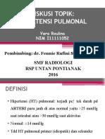 DT Rad-HT Pulmonal