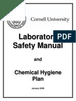 Cornell University Laboratory Safety Manual & Chemical Hygiene Plan_261pp