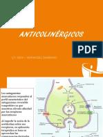 Anticolinérgicos teoria