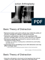 Ankle Distraction Arthroplasty