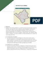 Los 11 Distritos