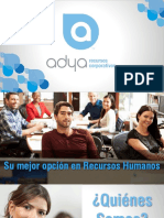 CV Adya Recursos Corporativos