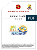 PAHS Summer Reading 2016