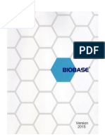 Cabina de Flujo Laminar Biobase