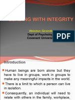 LEADING WITH INTEGRITY.ppt