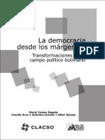 Democracia Margenes Bolivia