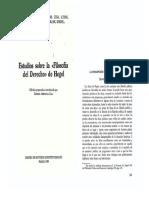 Pelczynski Concepción Del Estado en Hegel