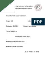 Ciencaias Sociales Investigacion