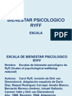 BIENESTAR PSICOLOGICO RYFF