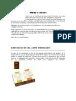 Menú Cíclico -Elaboracion de Una Carta de Restaurante- Tipos de Clientes