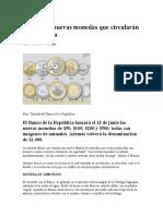 Así Son Las Nuevas Monedas Que Circularán en Colombia
