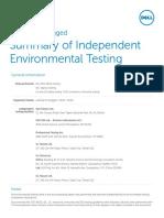 Dell Latitude 14 Rugged 5404 Testing Summary