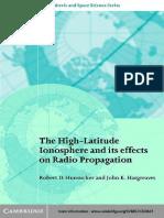 The High-latitudude Ionospehere