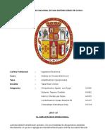 Amplificadores Operacionales - Análisis de Circuitos Eléctricos 1