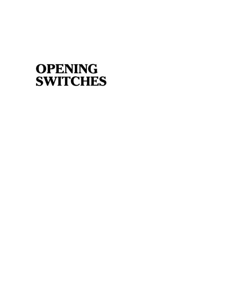 Advances In Pulsed Power Technology 1 Opening Switches Pdf Optical Interrupter Draws Microamps Basiccircuit Circuit Diagram Inductor Capacitor