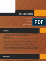TAX - SSS Benefits
