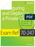 Exam Ref 70-247 Configuring and Deploying a Private Cloud MCSA