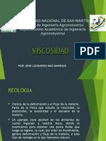 Viscosidad (metodos de analisis)