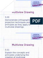 Unit E Multiview Drawing Powerpoint