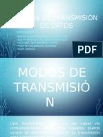 Modos de Transmisión de Datos Por Red